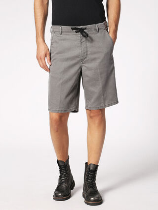 CHINO-SHORT JOGGJEANS, Grey