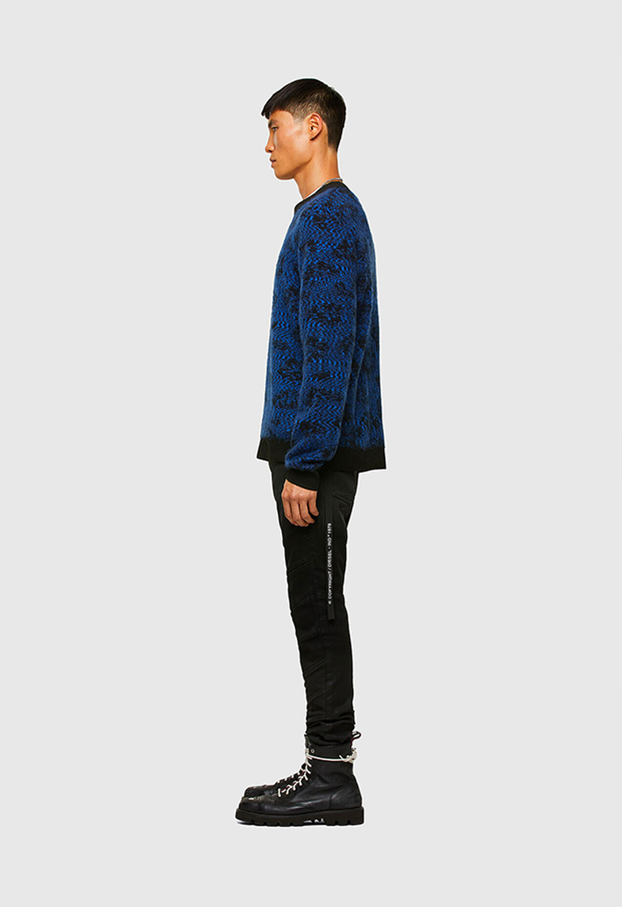 K-AZOTIC, Black/Blue - Knitwear