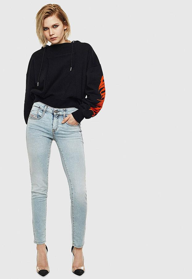 D-Ollies JoggJeans 069LL, Light Blue - Jeans