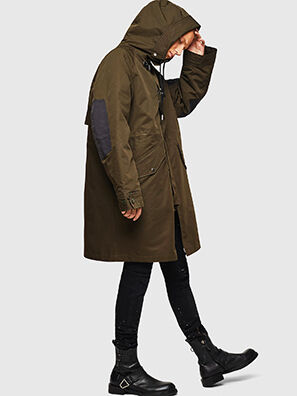 W-KOBEC, Military Green - Winter Jackets