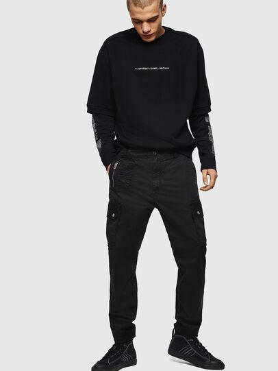 Diesel - P-PHANTOSKY, Black - Pants - Image 6