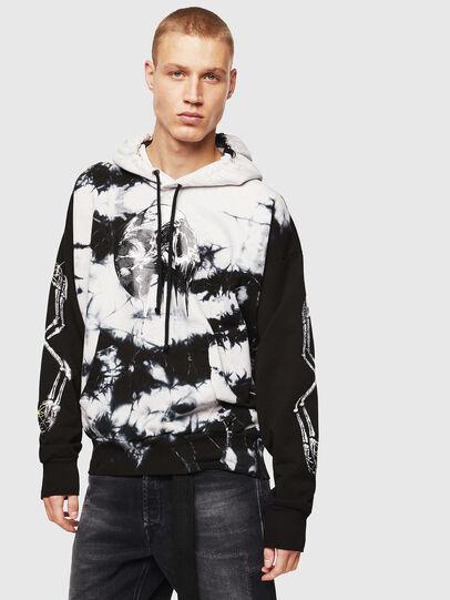 Diesel - S-ALBY-Y, Black/White - Sweaters - Image 1
