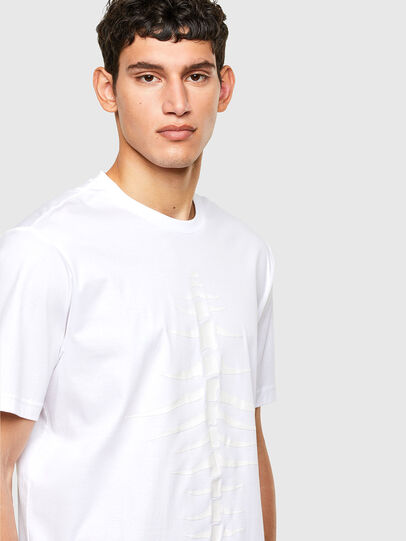 Diesel - T-JUST-A31, White - T-Shirts - Image 3