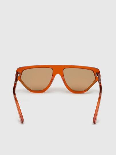 Diesel - DL0322, Orange - Sunglasses - Image 4