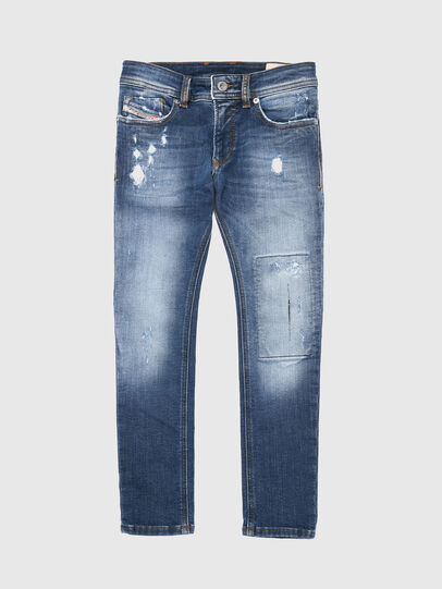 Diesel - SLEENKER-J-N JOGGJEANS, Blue Jeans - Jeans - Image 1