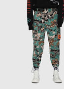 P-LUZA-CAMOU, Green Camouflage - Pants