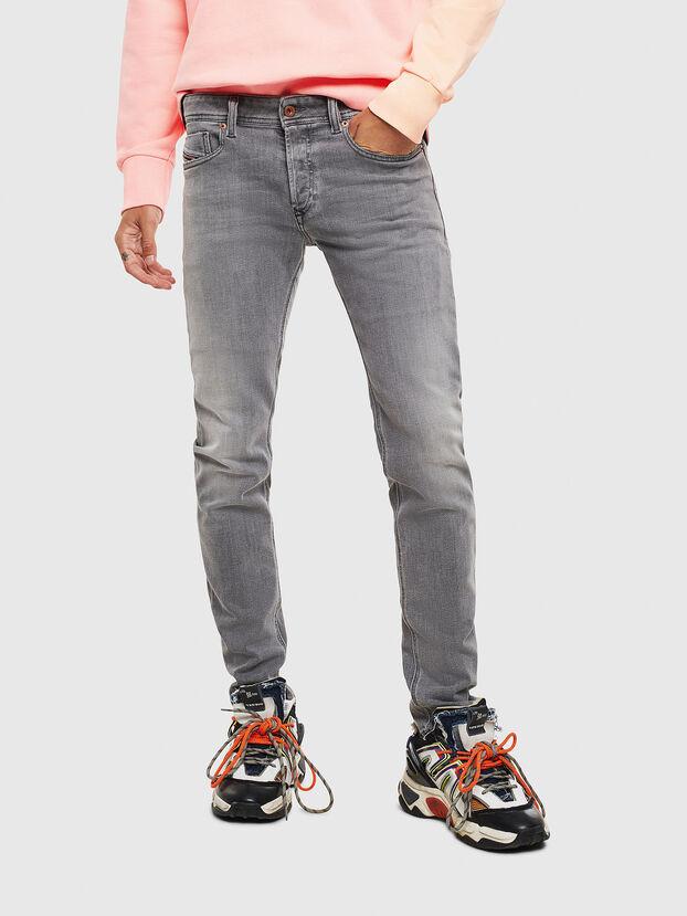 Sleenker 0095E, Black/Dark grey - Jeans
