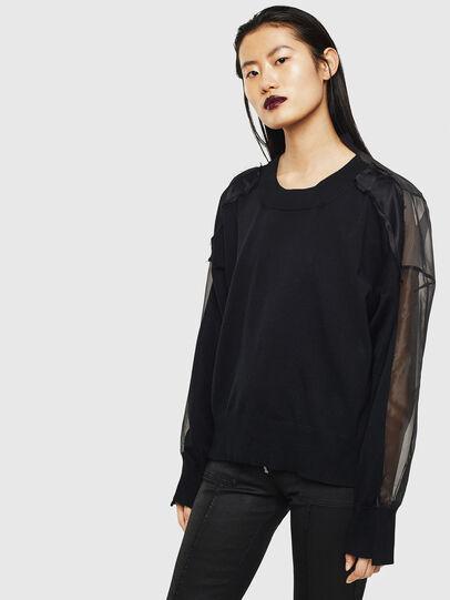 Diesel - MOLLYS, Black - Knitwear - Image 1