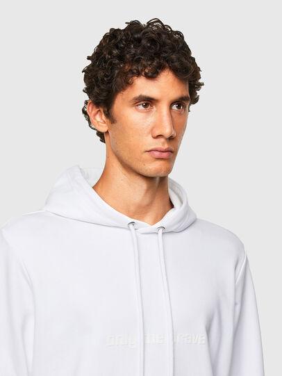 Diesel - S-GIRPO-HOOD, White - Sweaters - Image 3