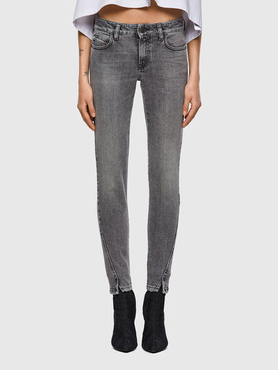 Diesel - D-Jevel 09A72, Light Grey - Jeans - Image 1