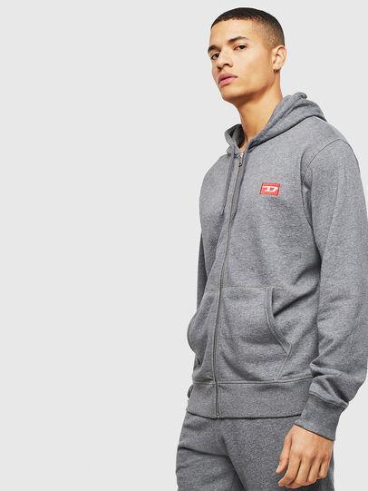 Diesel - UMLT-BRANDON-Z, Grey - Sweaters - Image 4