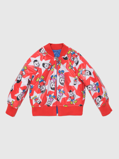 Diesel - JBRANB, Blue/Red - Jackets - Image 3