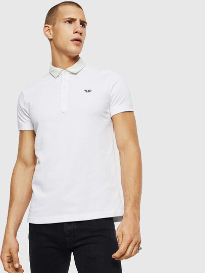 Diesel - T-MILES-NEW, White - Polos - Image 4