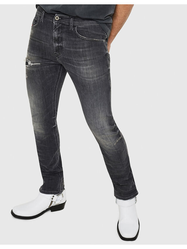Diesel - Thommer 069DM, Black/Dark grey - Jeans - Image 1