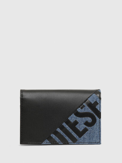 Diesel - DUKEZ, Black/Blue - Card cases - Image 1