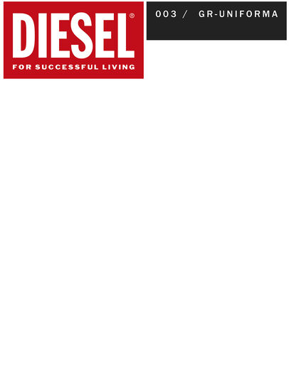 Diesel - GR02-P303, Red/White - Shorts - Image 2