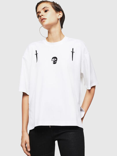 Diesel - TELIX-A, White - T-Shirts - Image 1