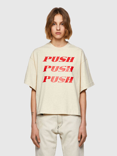 Diesel - T-BOWXY, White - T-Shirts - Image 1