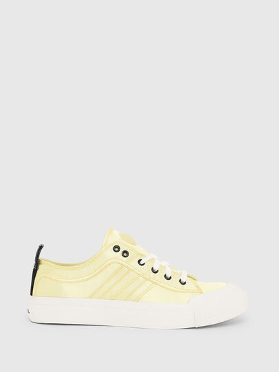 Diesel - S-ASTICO LOW LACE W, Yellow - Sneakers - Image 1