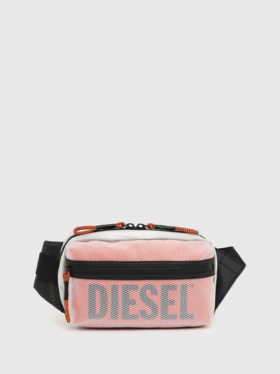 Diesel - FAROH, White/Orange - Crossbody Bags - Image 1