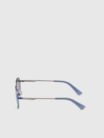 Diesel - DL0291, Blue/Grey - Kid Eyewear - Image 3