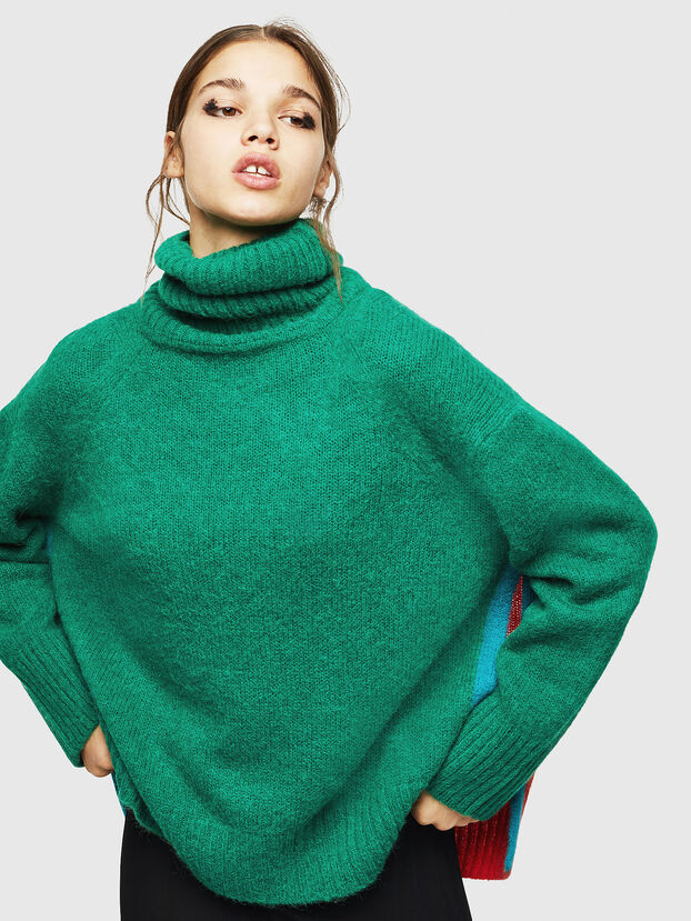 M-PERSIA, Green/Red - Knitwear