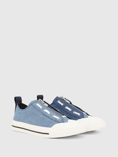 Diesel - S-ASTICO LZIP, Blue - Sneakers - Image 2