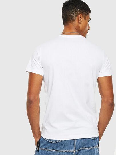 Diesel - T-DIEGO-S13, White - T-Shirts - Image 2
