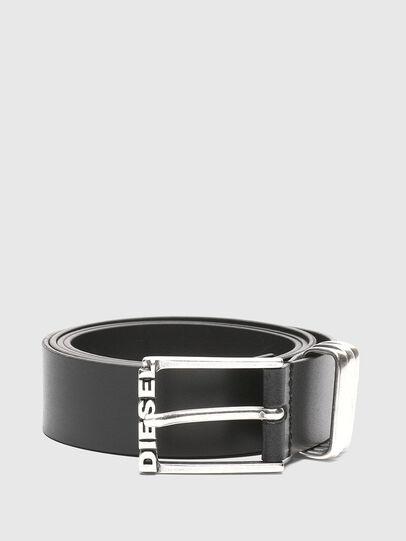 Diesel - B-TUPLO, Black - Belts - Image 1