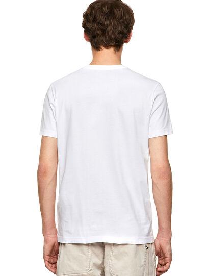 Diesel - T-DIEGOS-K20, White - T-Shirts - Image 2