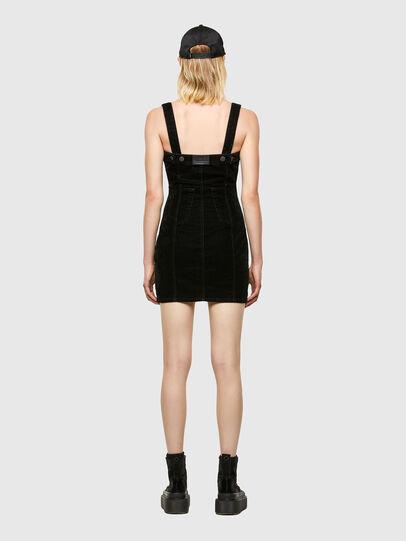 Diesel - D-VOLCANO-SP JOGGJEANS, Black/Dark grey - Dresses - Image 2
