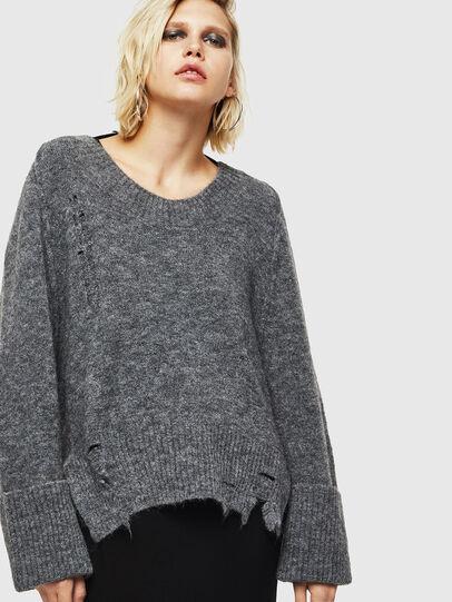 Diesel - M-MARIKAX, Grey - Knitwear - Image 1