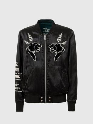 J-SMOAK-EMBRO, Black - Jackets