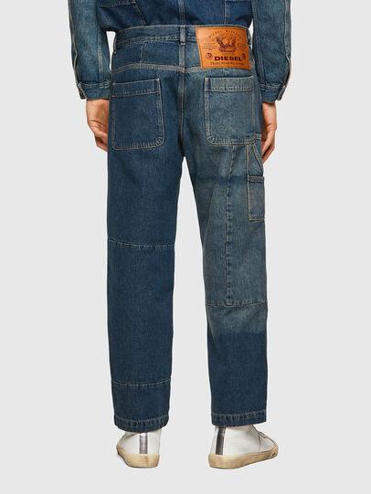 Diesel - D-FRAN-SP, Medium blue - Pants - Image 2