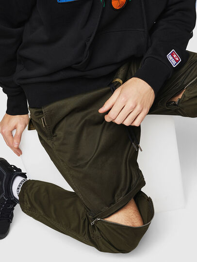 Diesel - P-CASHORT, Military Green - Pants - Image 4