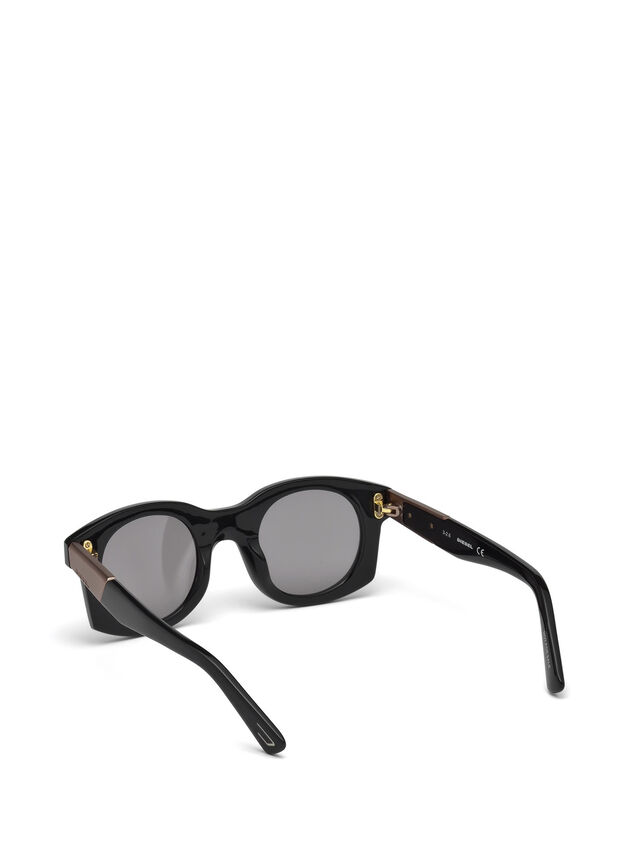Diesel - DL0226, Black - Sunglasses - Image 5
