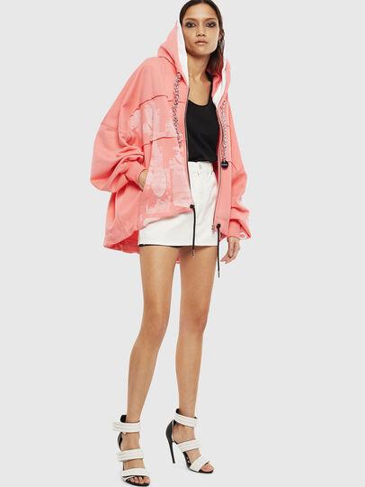 Diesel - F-BAILEY, Pink - Sweaters - Image 7