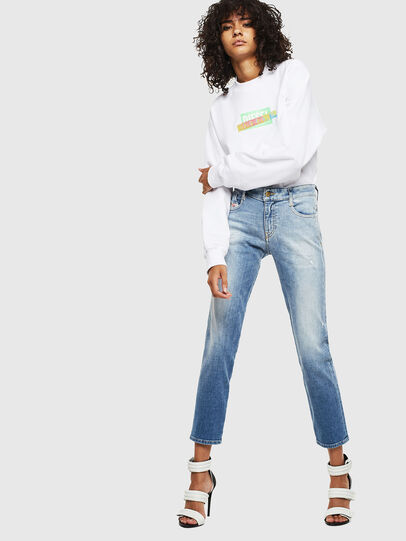 Diesel - F-ANG-S1, White - Sweaters - Image 4