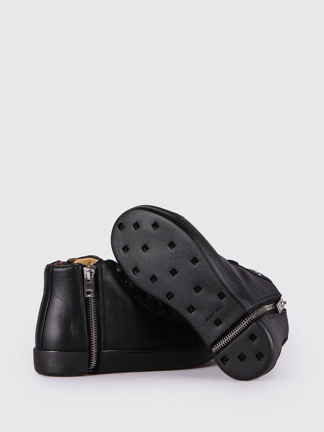 KIDS SN MID 24 NETISH CH, Black - Footwear - Image 4