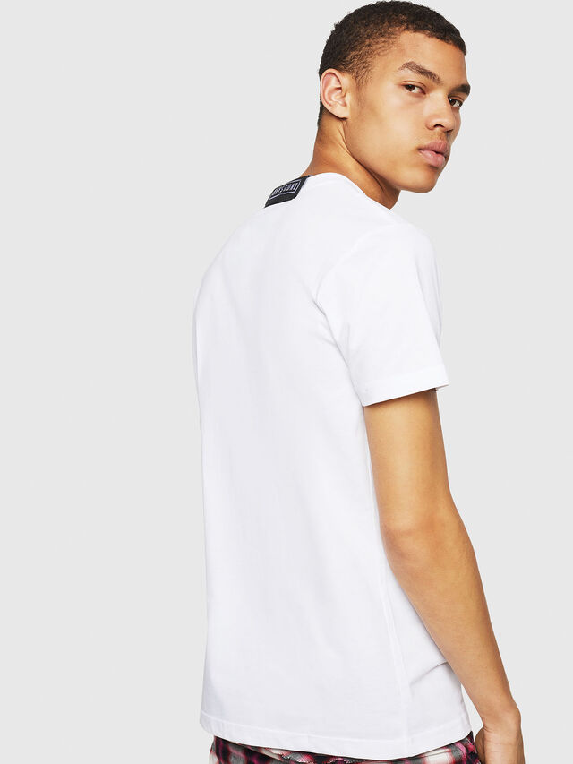 Diesel - PS-T-DIEGO-OCTOSKULL, White - T-Shirts - Image 2