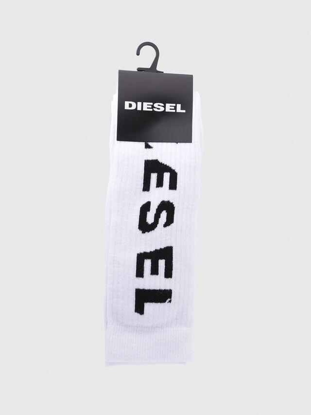 Diesel - SKM-LONG, White - Socks - Image 2
