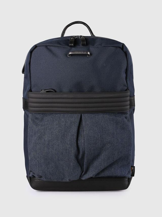 Diesel M-PROOF BACK, Blue Jeans - Backpacks - Image 1