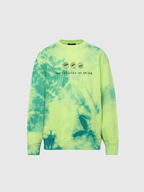S-BIAY-X10, Green/Yellow - Sweaters