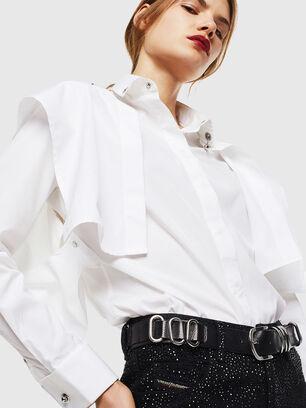 C-RAILY-SHAPED, White - Shirts