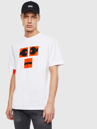 Diesel - T-JUST-T23, White - T-Shirts - Image 1