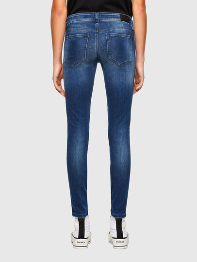 Diesel - Slandy Low 009FE, Dark Blue - Jeans - Image 2
