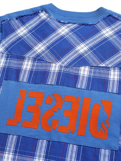 Diesel - D-WESTERNSPORT, Light Blue - T-Shirts - Image 5