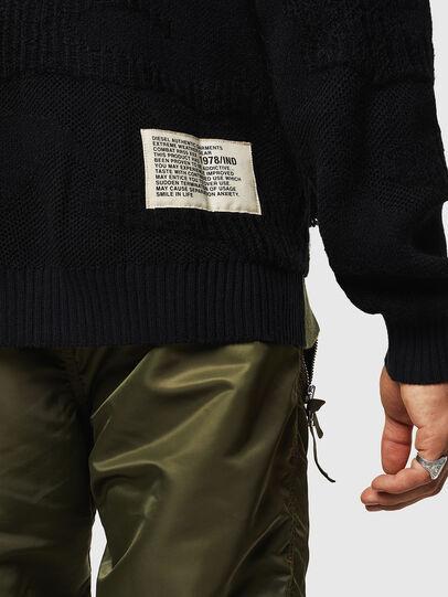 Diesel - K-MUSCHIO, Black - Knitwear - Image 5