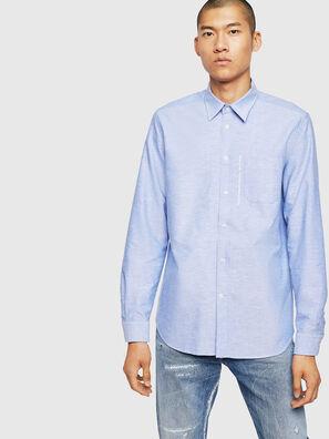 S-MOI-R-B1, Azure - Shirts