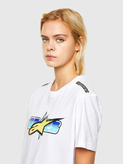 Diesel - ASTARS-T-DIEGOS-B-FL, White - T-Shirts - Image 5